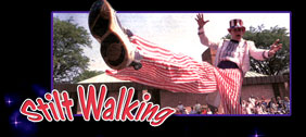 stiltwalking