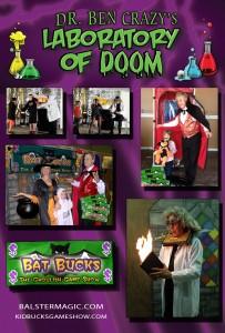 Dr-BEN-Crazy-Show-collage-poster-Banner